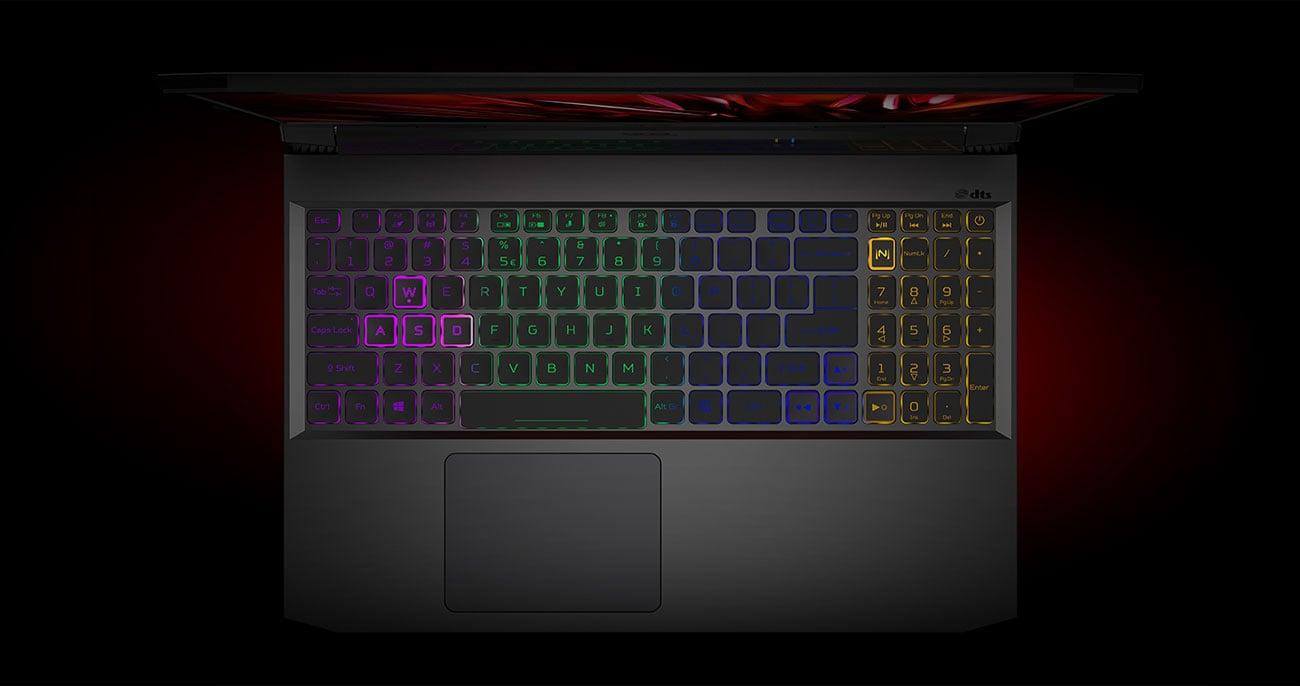 Acer Nitro 5 klawiatura