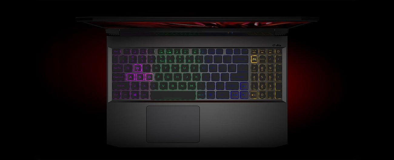 Laptop gamingowy Acer Nitro 5 klawiatura
