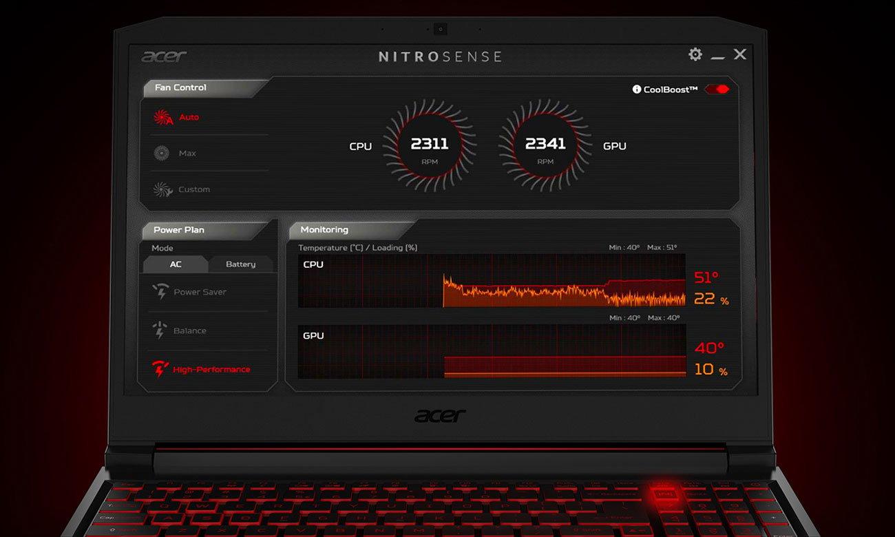Acer CoolBoost NitroSense