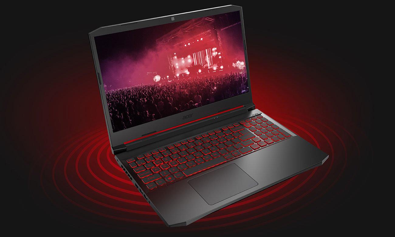 Acer Nitro 5 głośniki dźwięk