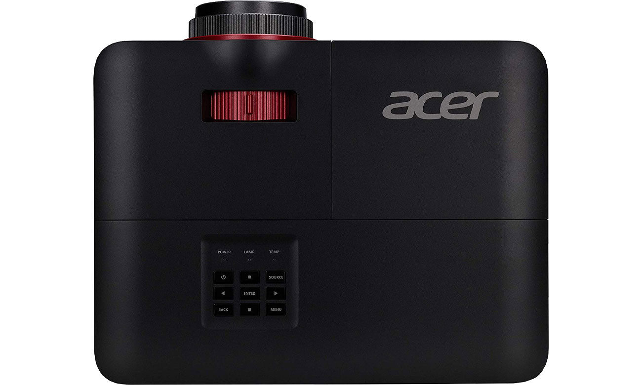 Acer Nitro G550 - вид сверху