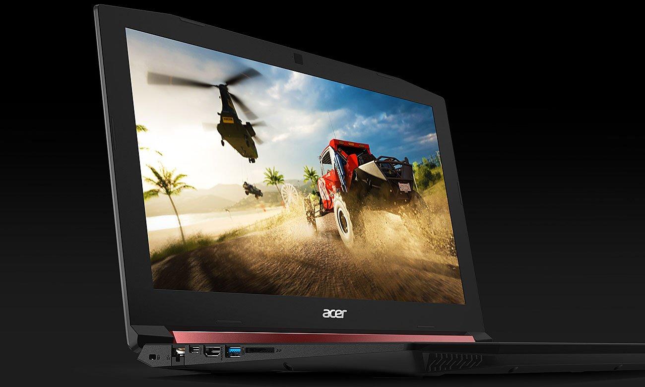 Acer Nitro 5 Dysk SSD szybkość działania i wczytywania