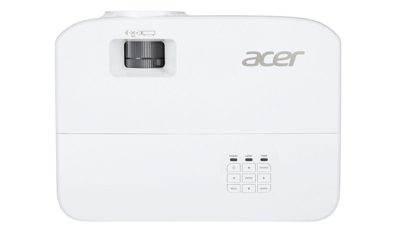 Projektor Acer P1150 przyjazny środowisku