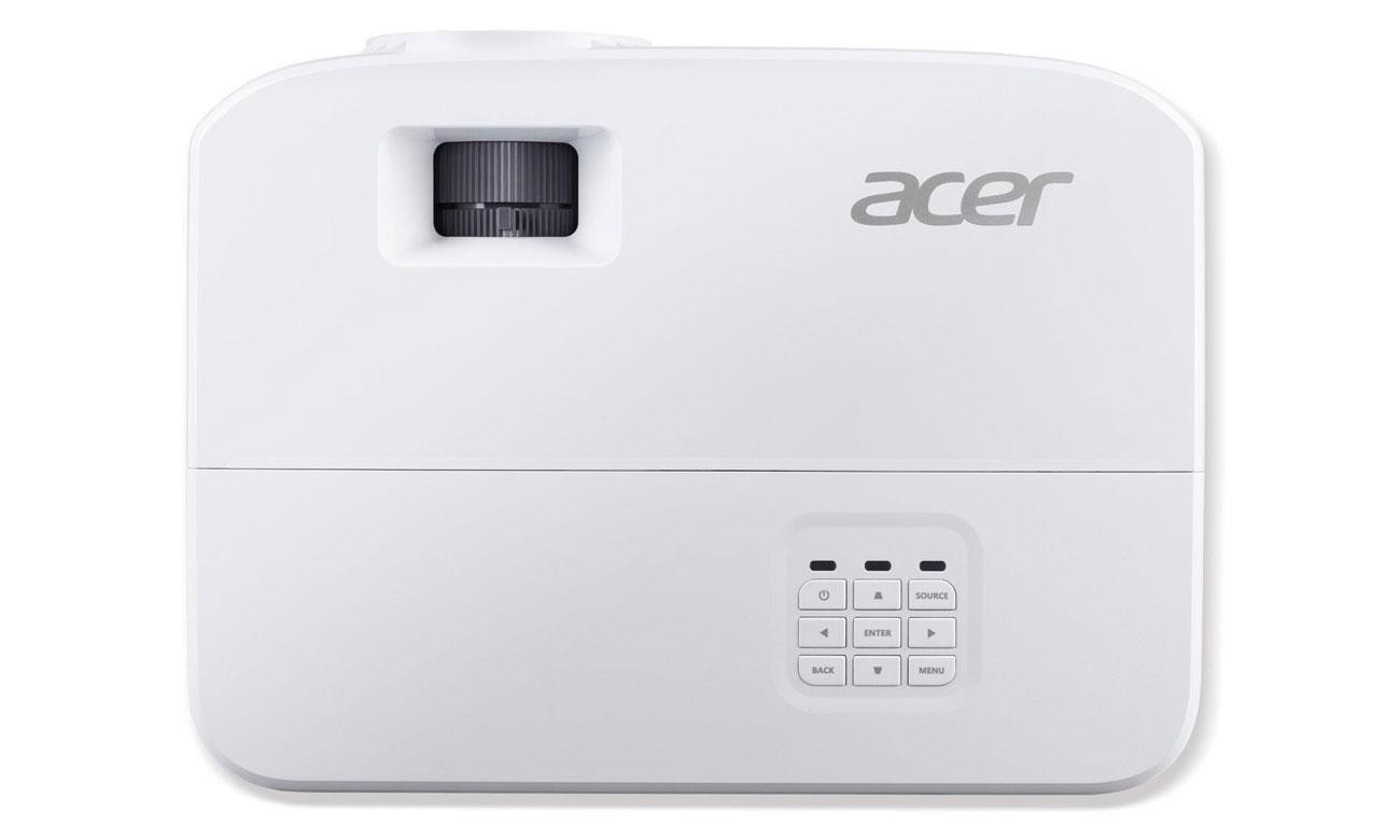 Acer P1250B DLP Wygodne i elastyczne, Łatwa obsługa