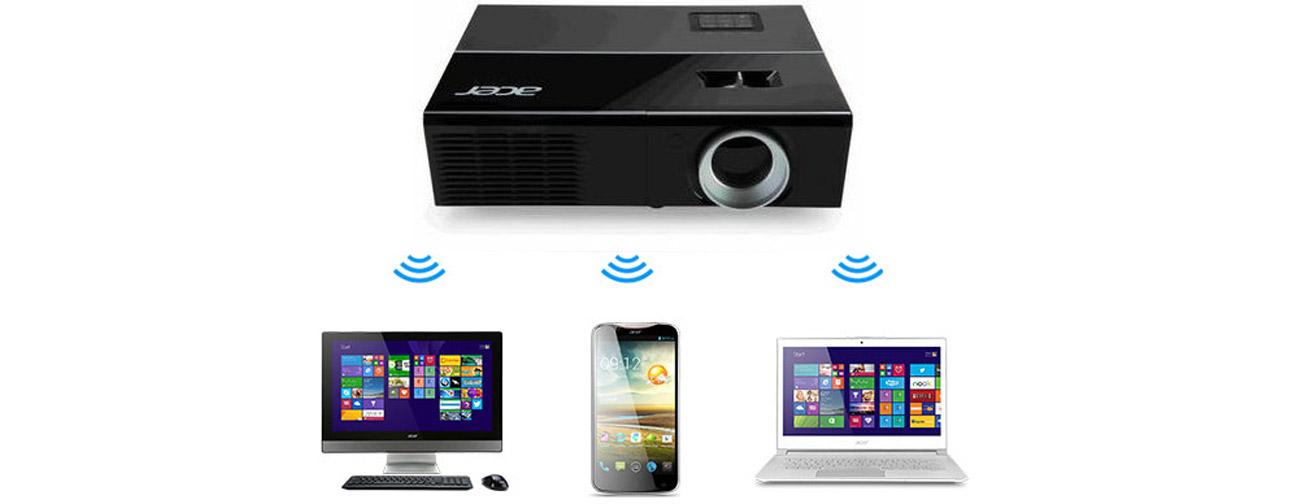 Acer P1276 połączenie bezprzewodowe
