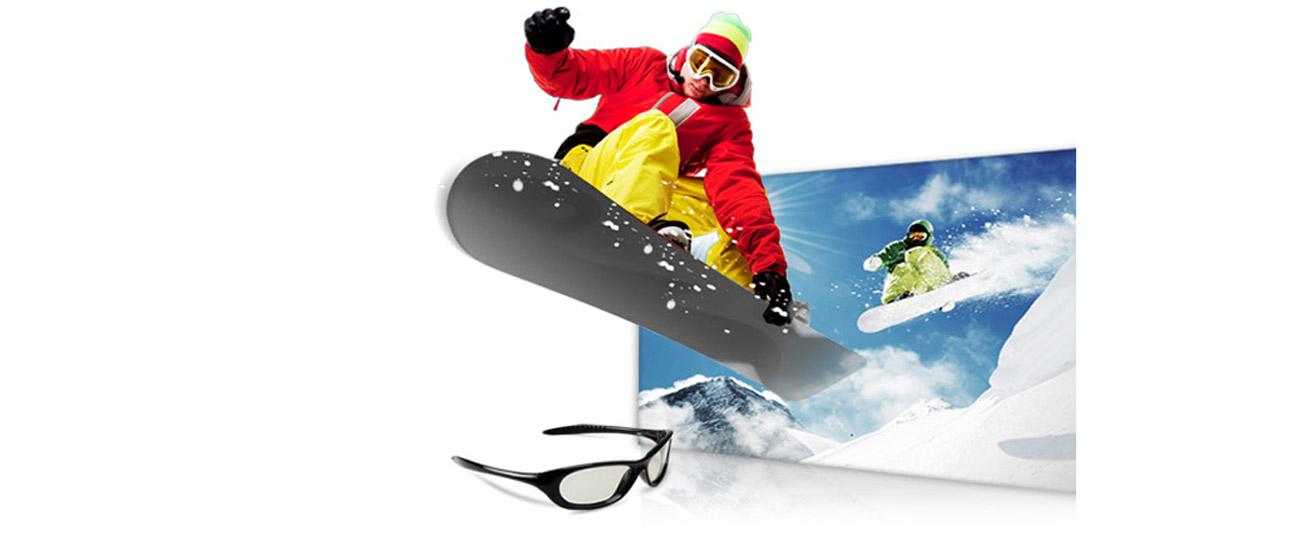 Acer P1276 efekty wizualne