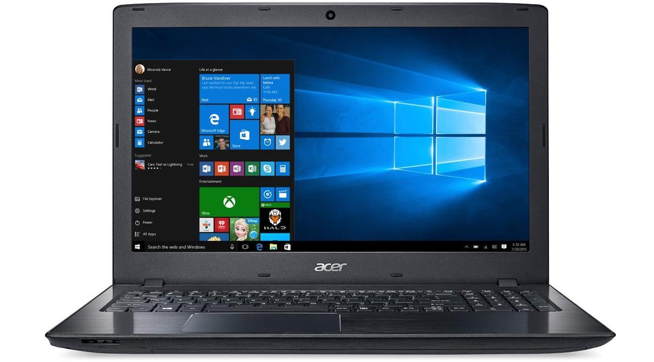Acer P259 karta graficzna Intel HD Graphics