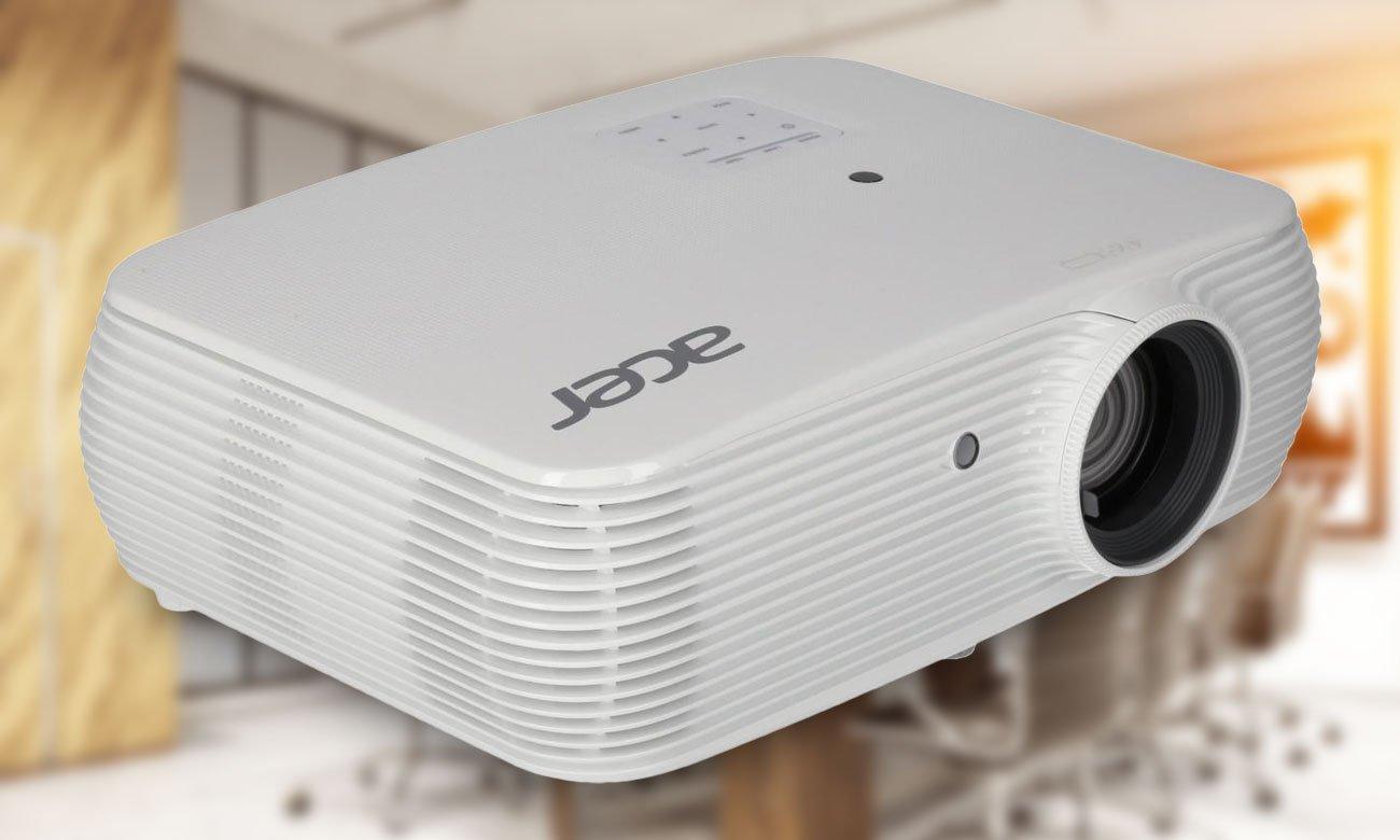 Acer P5530 DLP Kryształowo czysty obraz w każdym pomieszczeniu