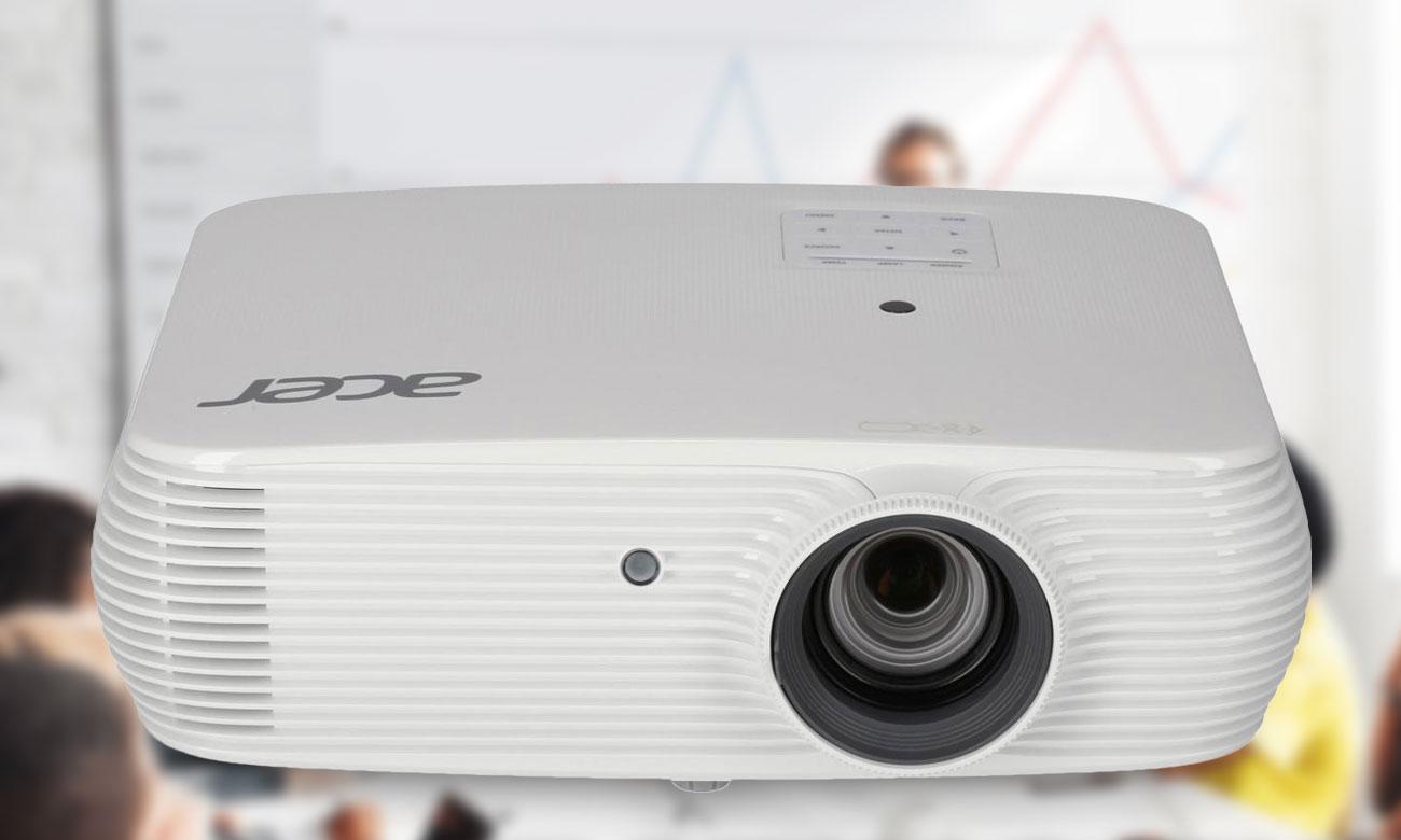 Acer P5530 DLP Fascynujące efekty wizualne Tryb 3D