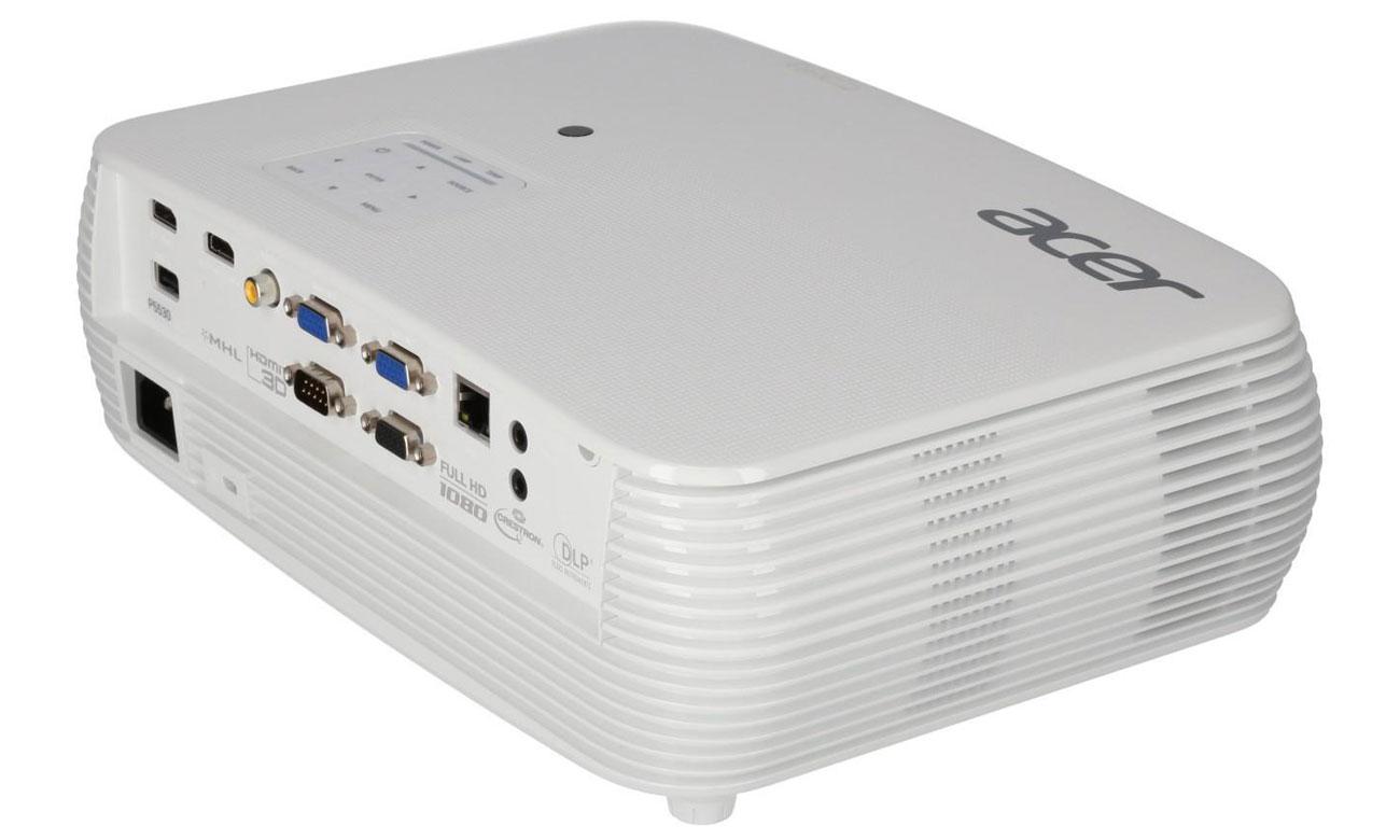 Acer P5530 DLP Technologia Acer SmartFormat Poręczne narzędzia