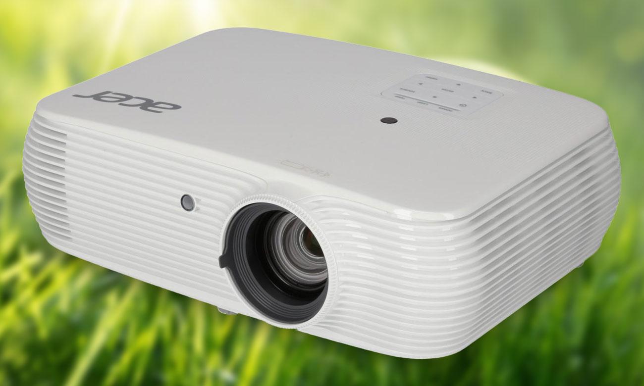 Acer P5530 DLP Inteligentne oszczędzanie Acer EcoProjection