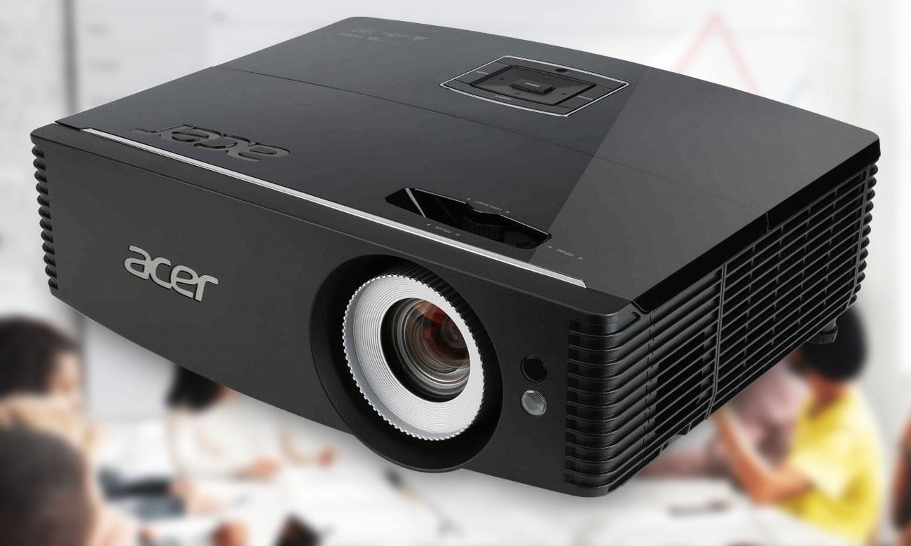 Acer P6200 DLP Кристально чистое изображение в любой комнате