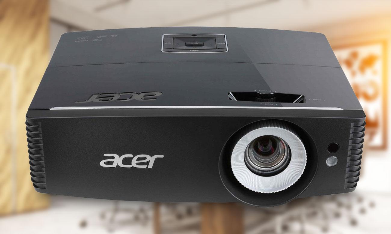 Acer P6200 DLP Fascynujące efekty wizualne Tryb 3D