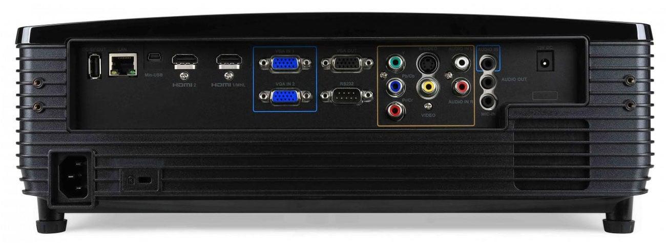 Acer P6500 DLP Inteligentne oszczędzanie Acer EcoProjection