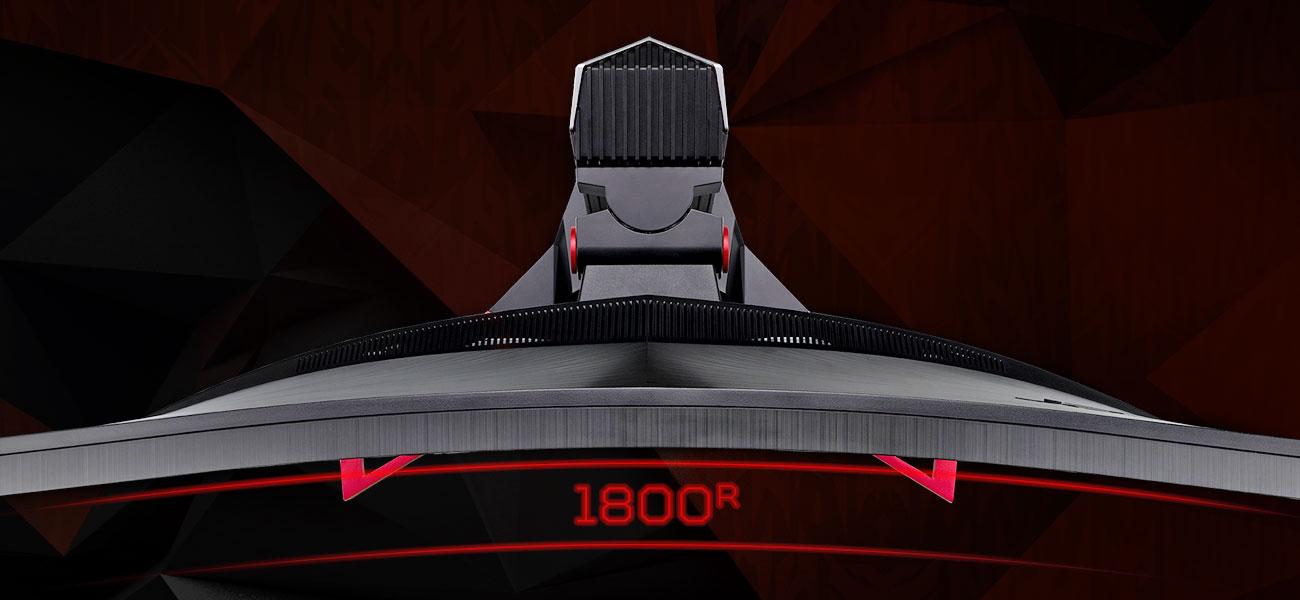 Acer Predator Z321QU Krzywizna 1800R, Idealne odwzorowanie kolorów