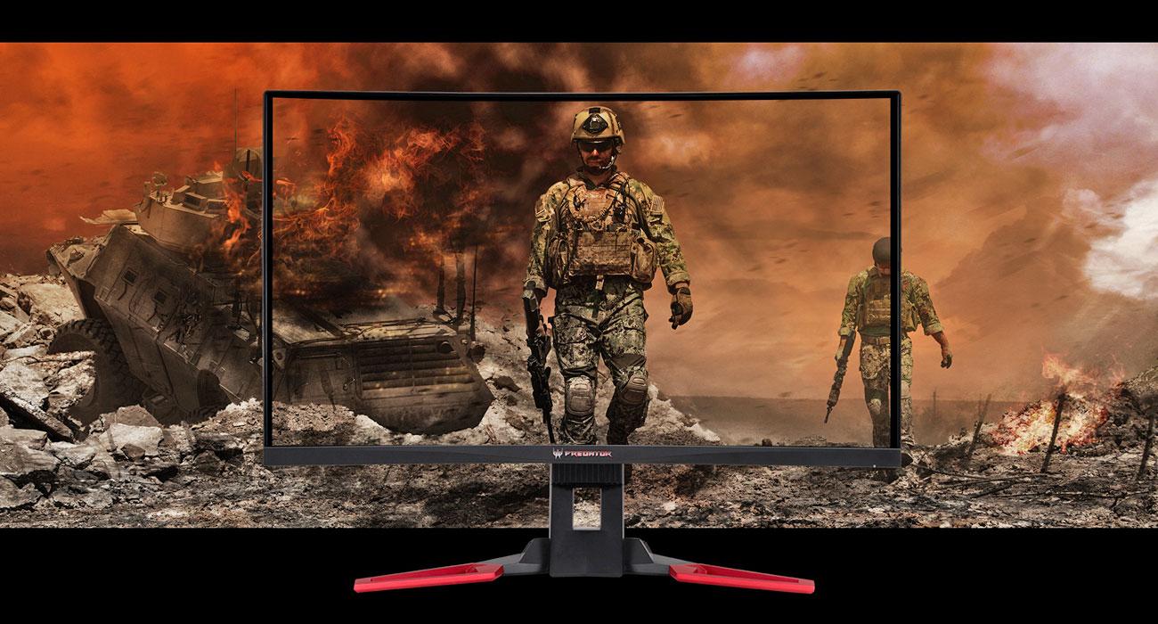 Acer Predator Z321QU Wysoka rozdzielczość WQHD 2560 x 1440