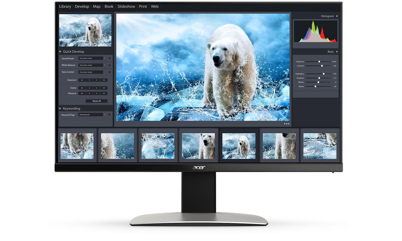 Acer ProDesigner™ BM320 Kolory