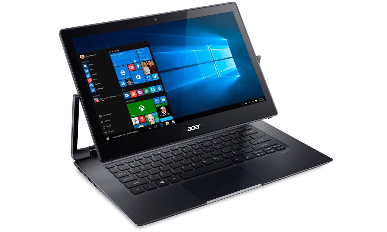 Ultrabook Acer R7-372T konstrukcja płynne przejścia full hd