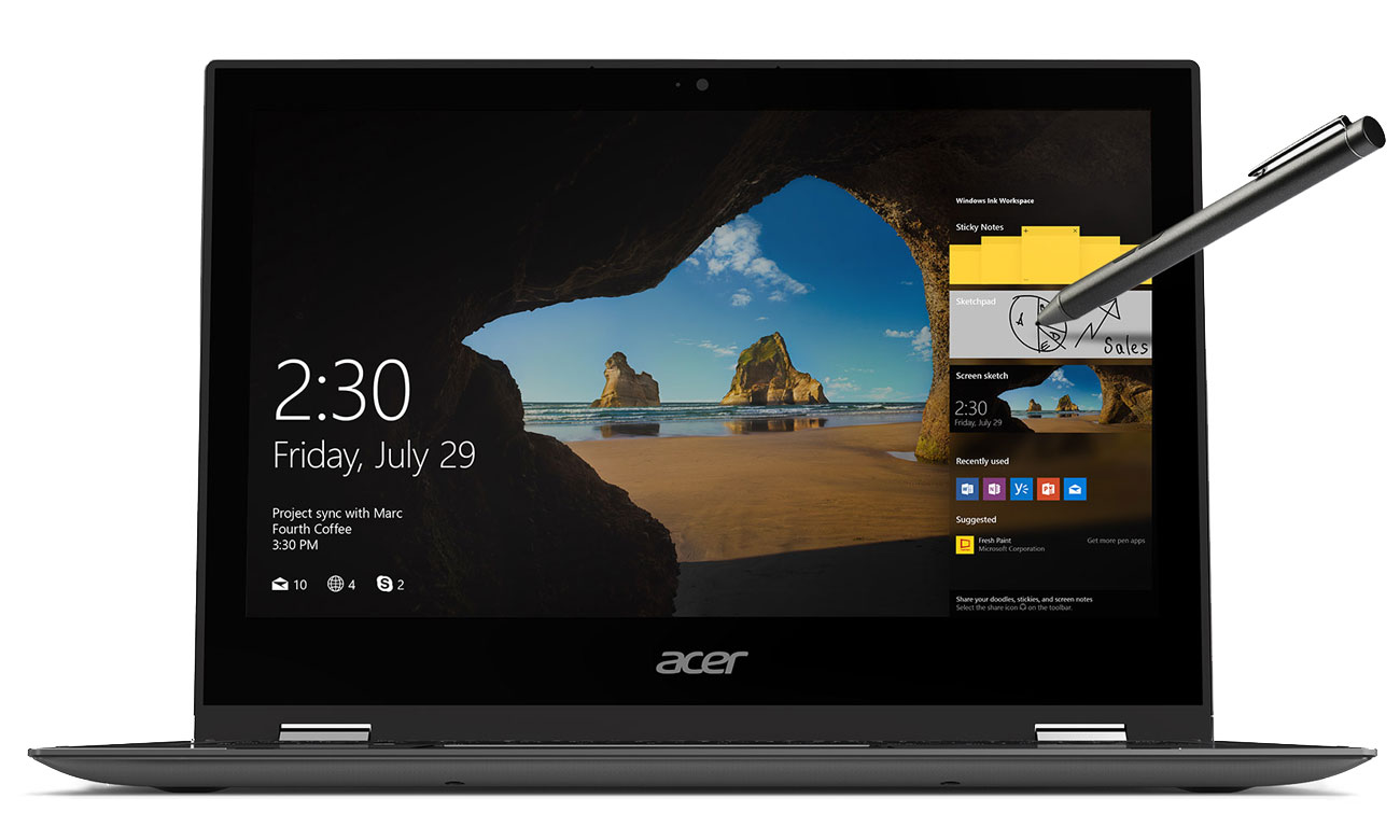 Acer Spin 1 Dotykowy ekran Full HD IPS