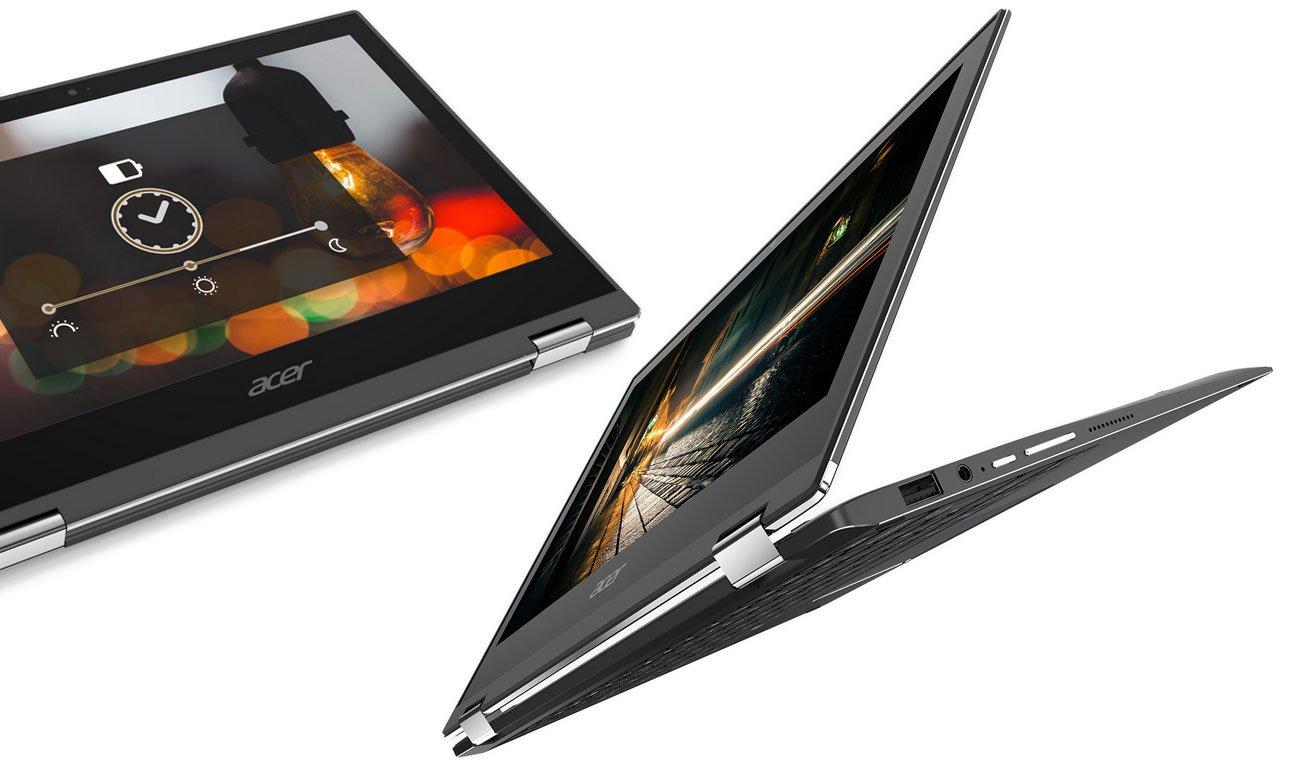 Acer Spin 1 Większa żywotność baterii