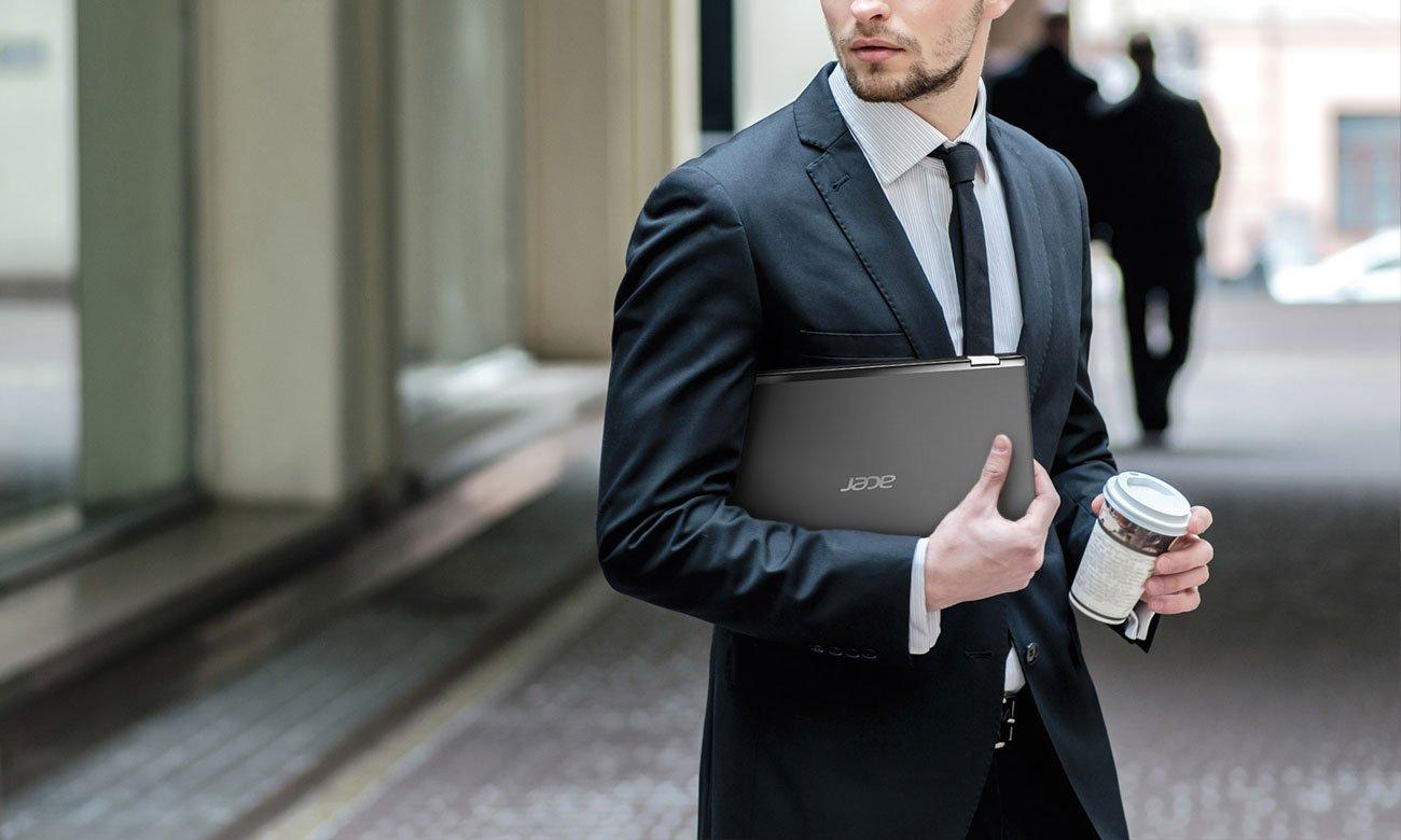 Acer Spin 1 Cienka, fakturowana konstrukcja