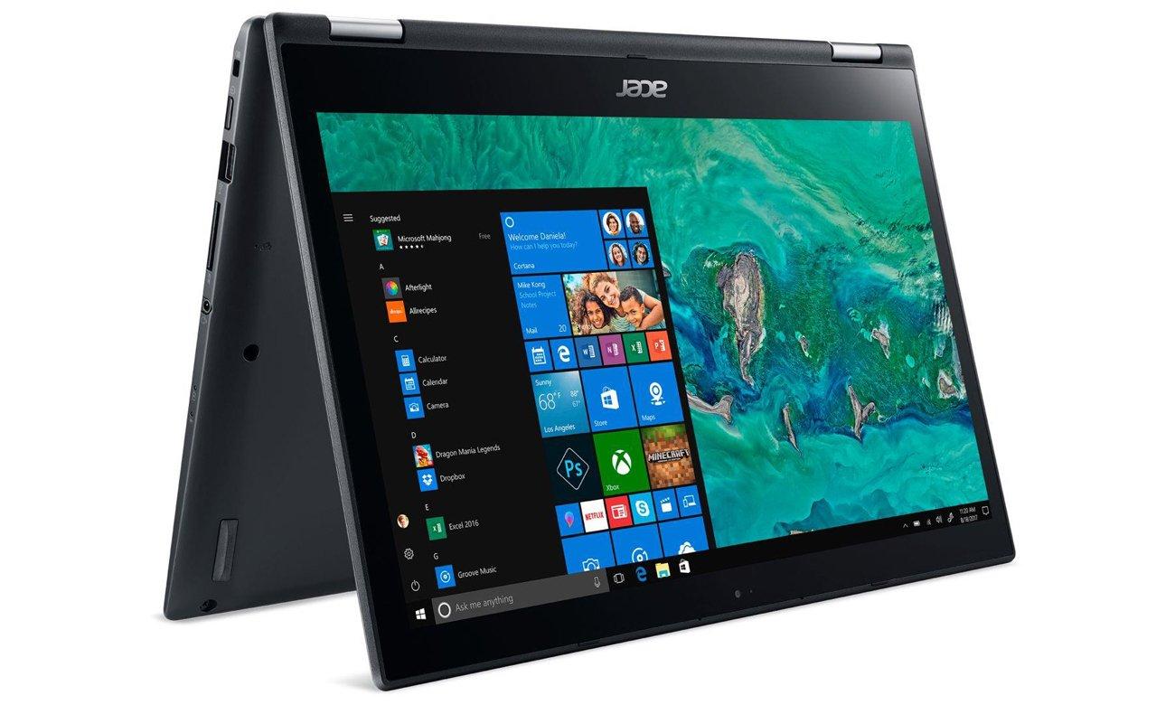 Acer Spin 3 Wydajne Wi-Fi i praktyczne złącza