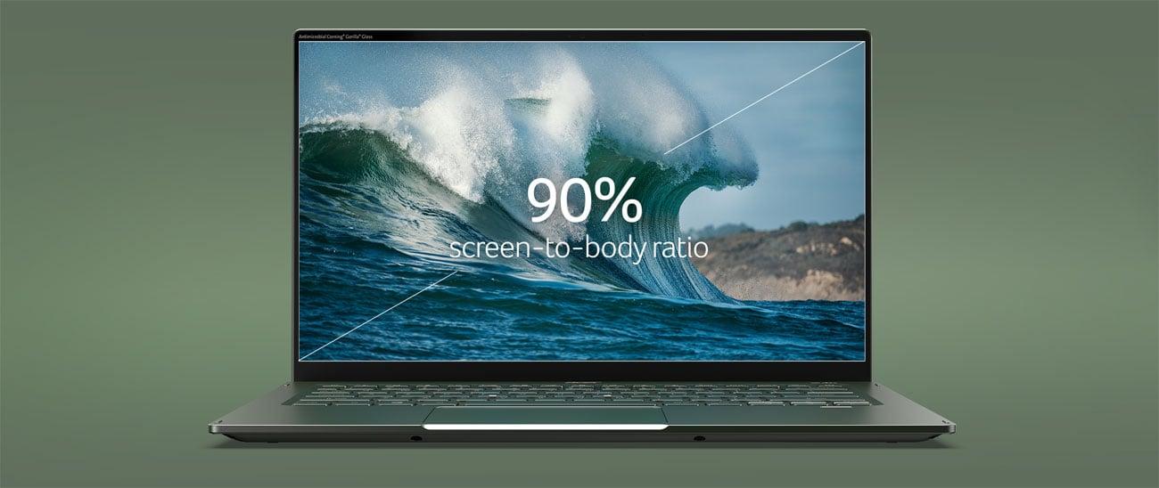 Acer Swift 5 przestronny ekran IPS