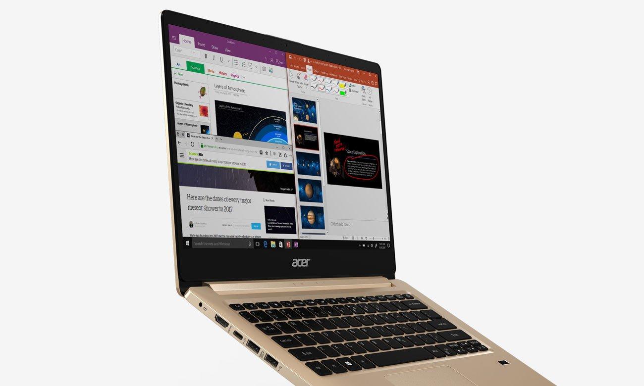 Acer Swift 1 Układ graficzny Intel UHD Graphics