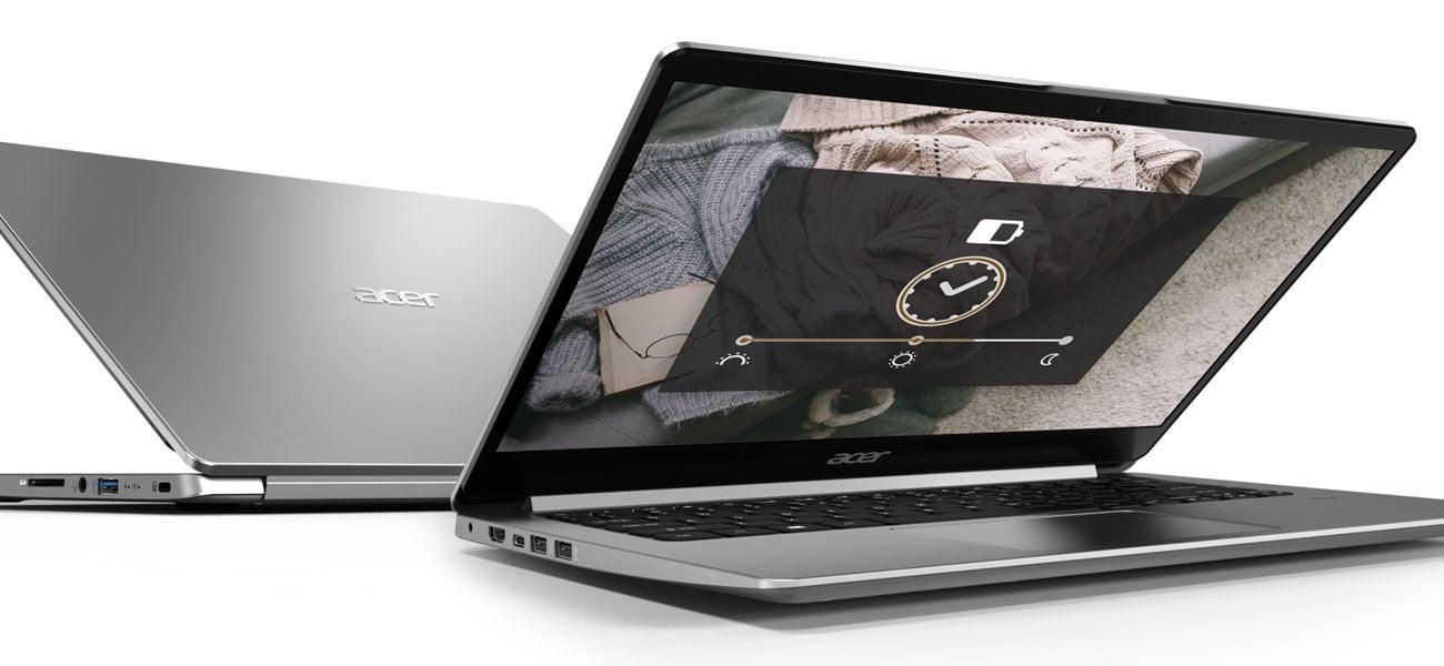 Acer Swift 1 wydajna praca bateria