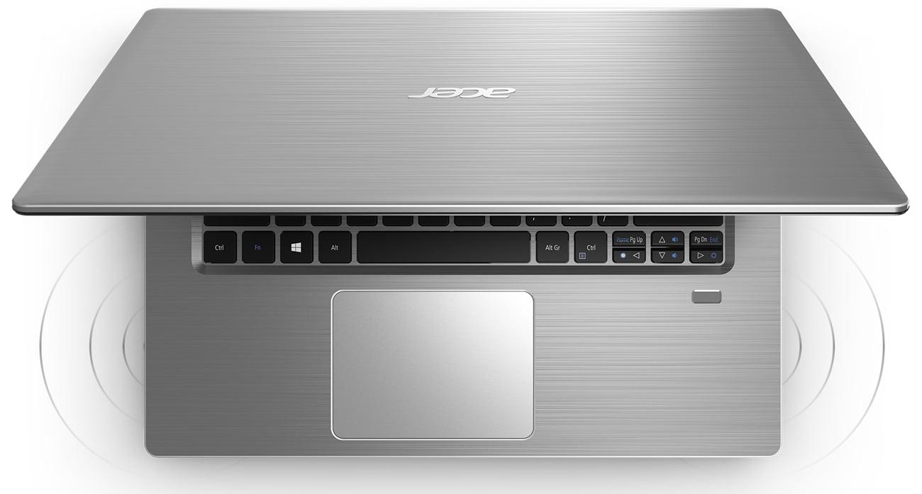 Acer Swift 3 wysoka jakość dźwięku