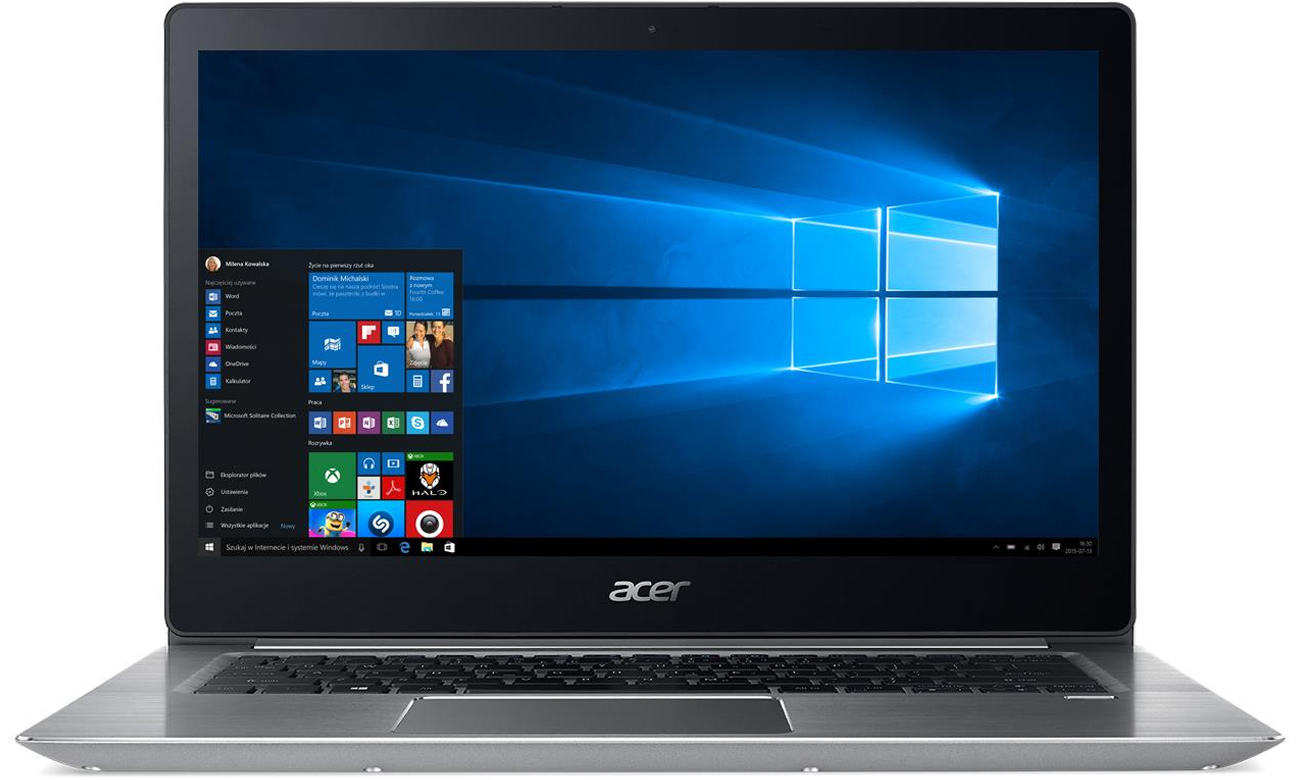 acer swift 3 i3 7100u 8gb 256 win10 fhd ips notebooki. Black Bedroom Furniture Sets. Home Design Ideas