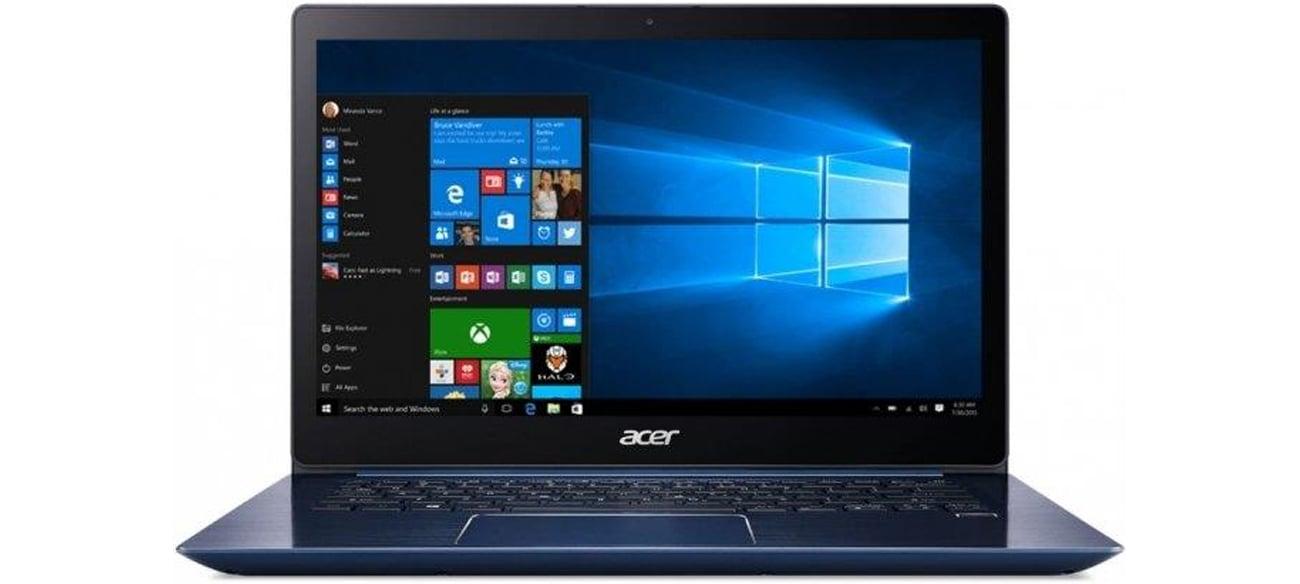 Acer Swift 3 Procesor Intel Core i3 ósmej generacji