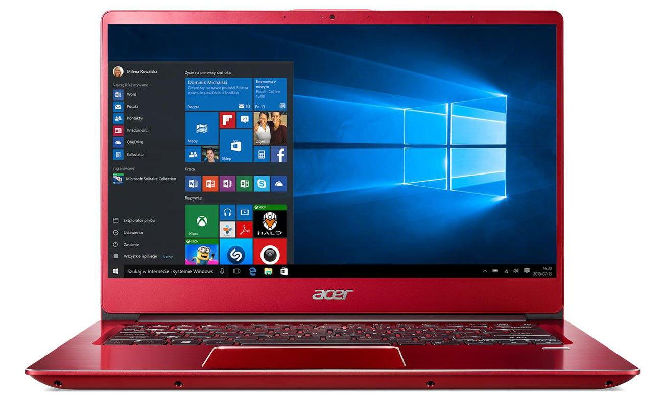 Acer Swift 3 układ graficzny Intel UHD Graphics