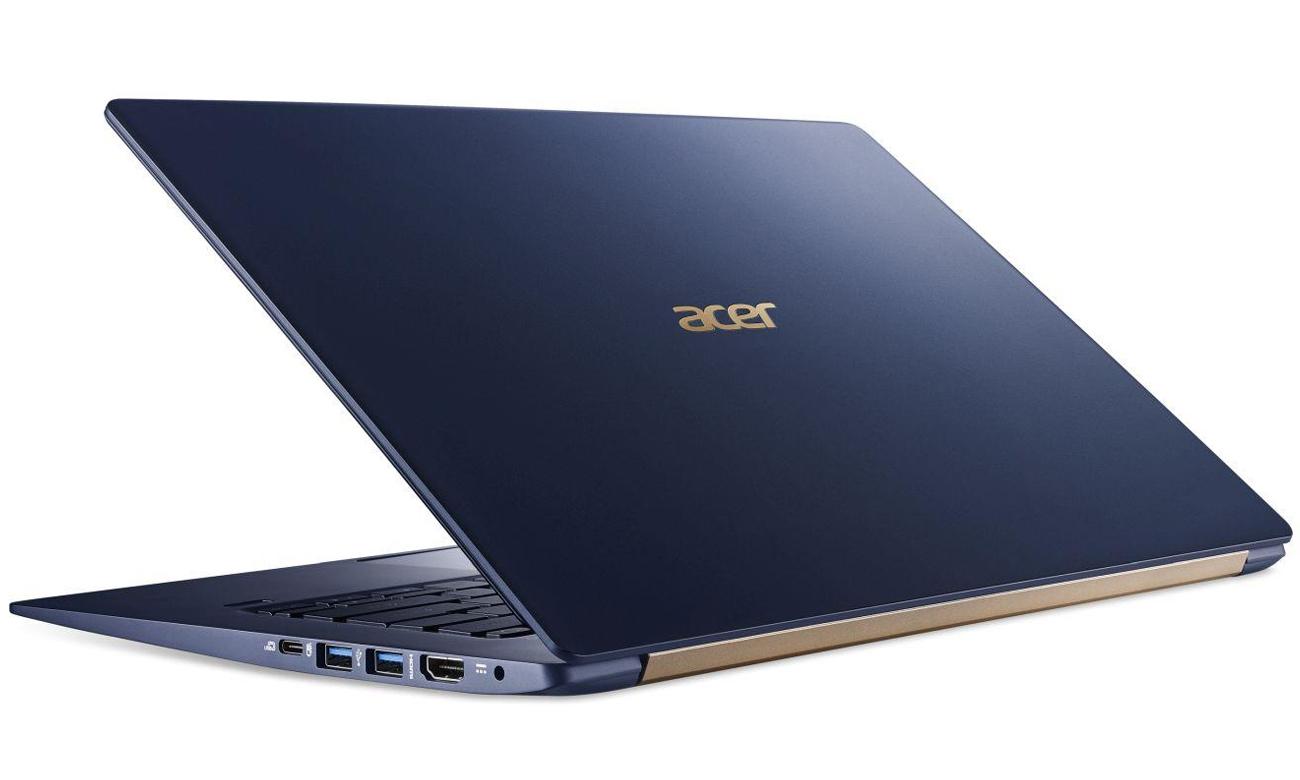 Acer Swift 5 wysoka jakość dźwięku