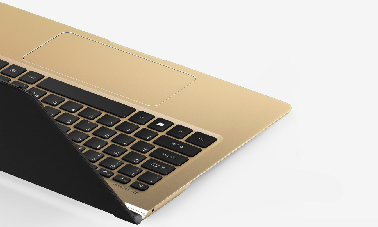 Acer Swift 7 szeroka i precyzyjna płytka dotykowa