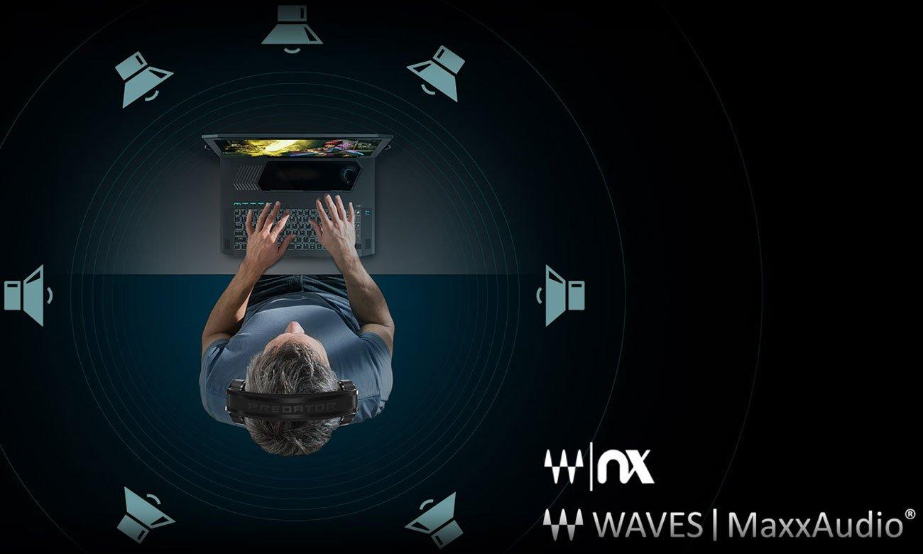 Dźwięk 3D Waves NX