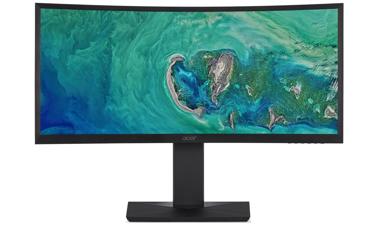 Acer CZ350CK Zniewalający obraz na zakrzywionym ekranie