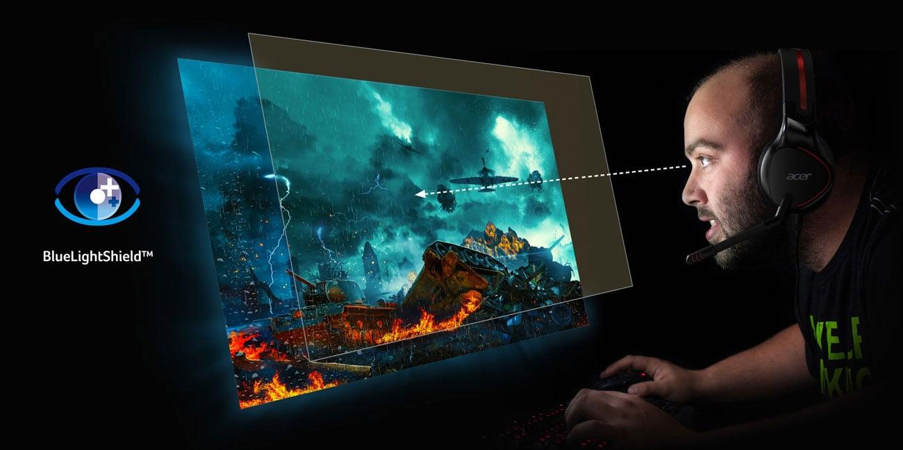 Acer Nitro XV3 Quantum Dot Ochrona Oczu