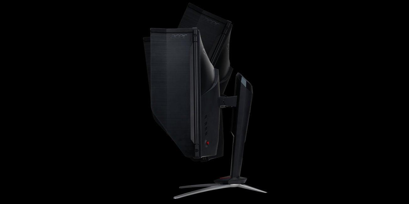Acer Nitro XV3 Quantum Dot Regulacja