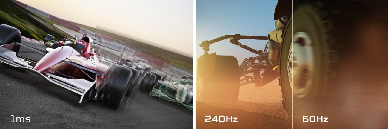 Acer Predator XB2 Czas Reakcji, Częstotliwość Odświeżania