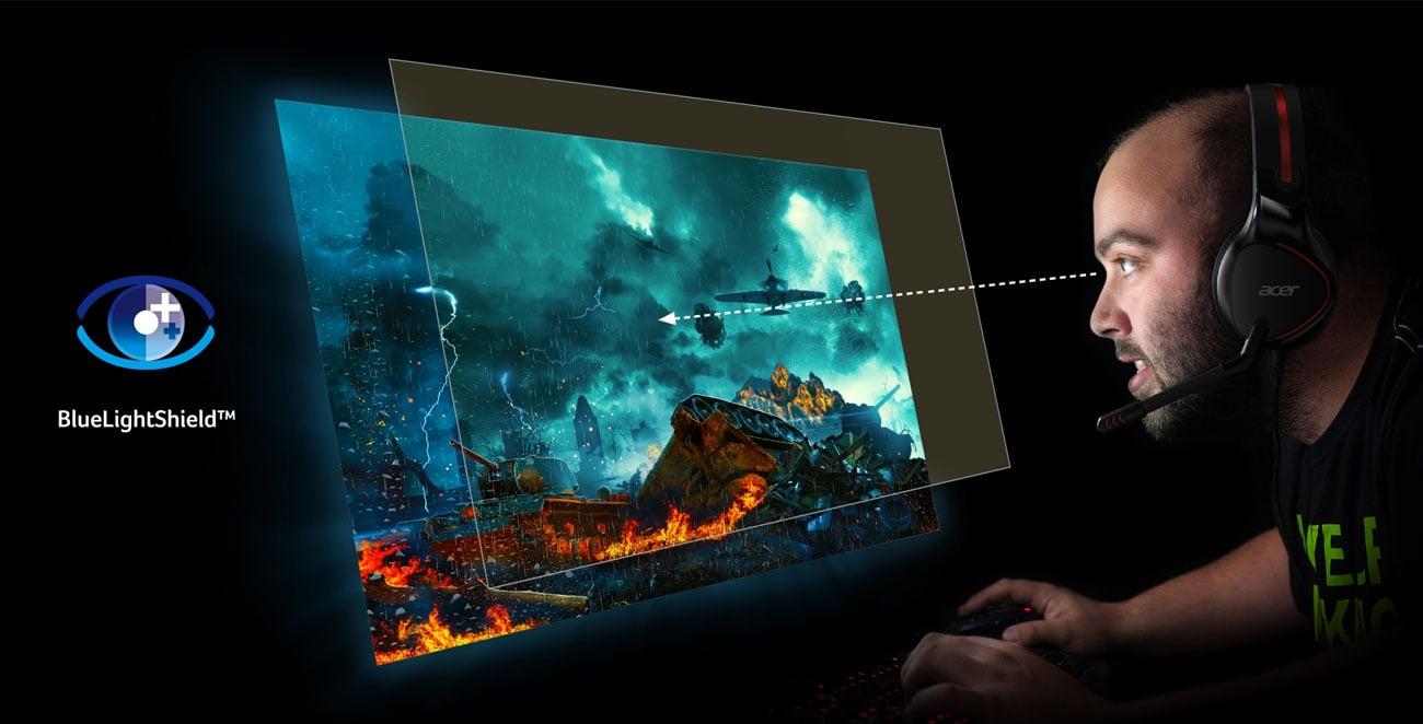 Monitor dla graczy Acer Nitro EI242QRPBIIPX