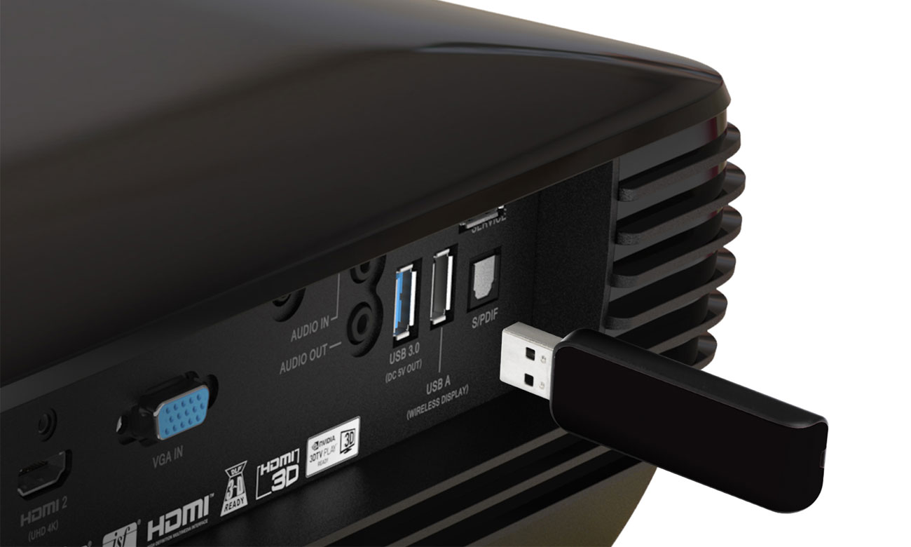 Acer V6820i DLP 4K Port USB