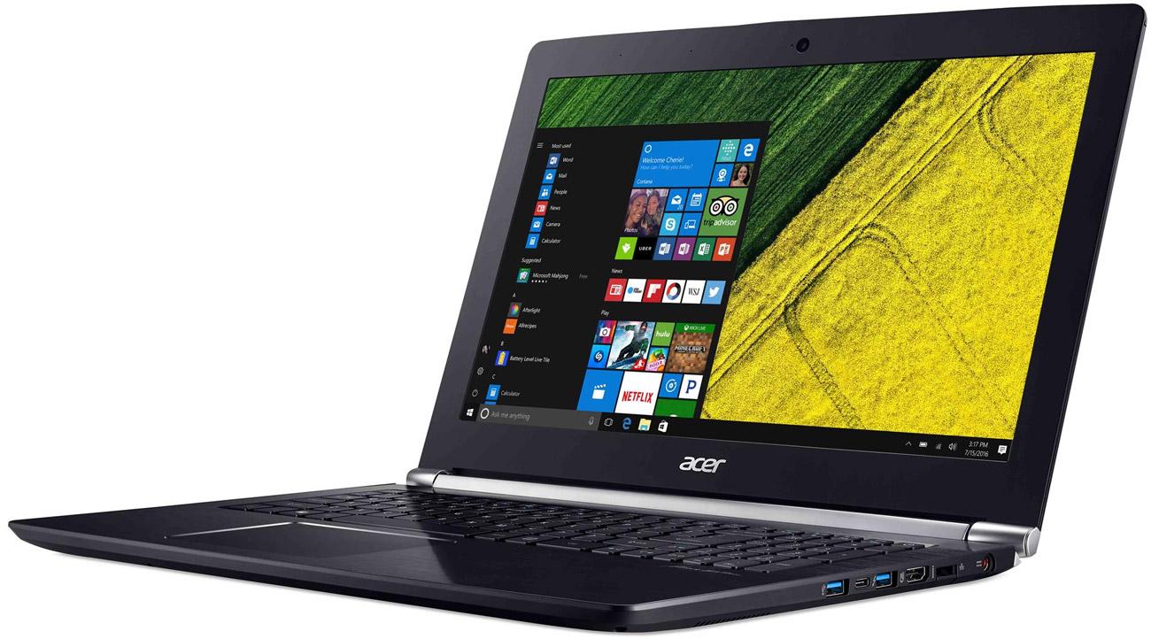 Acer VN7-593G procesor Intel Core i7 siódmej generacji