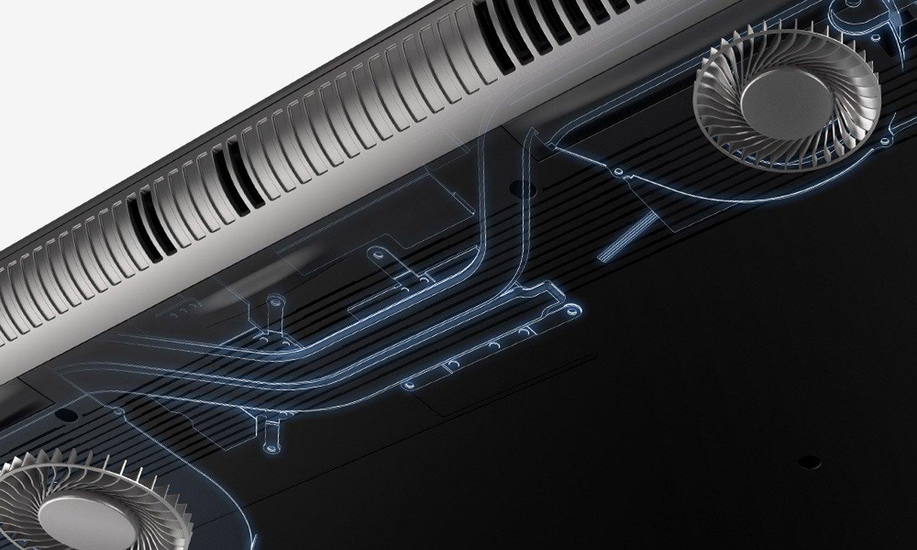 Acer VN7-793G chłodzenie wentylator AeroBlade