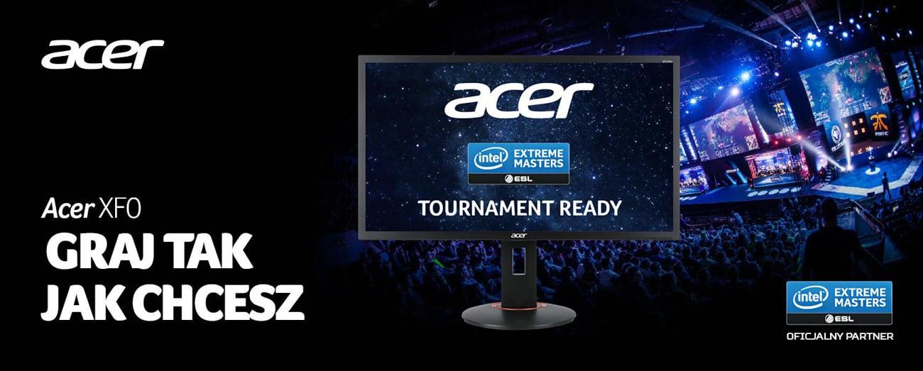 Monitor Acer XF240HBMJDPR Przód Full HD