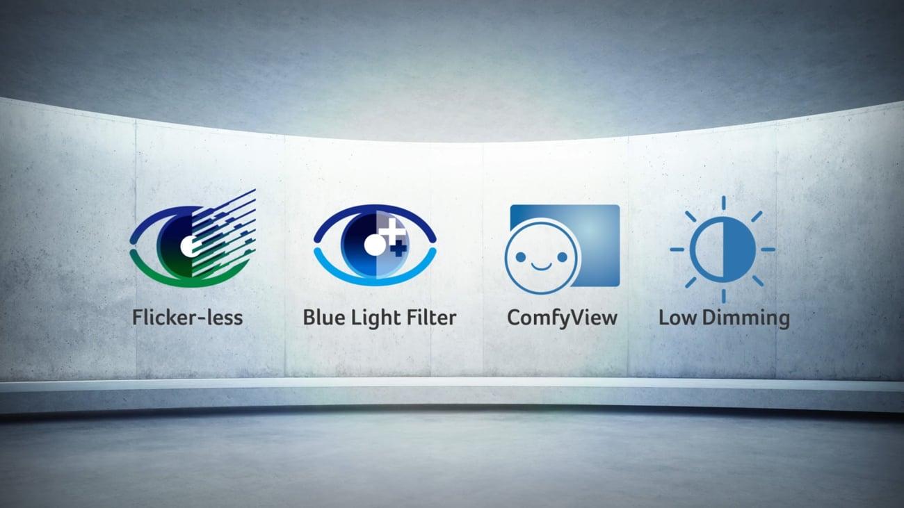 Monitor Acer XF240HBMJDPR Technologia Acer EyeProtect