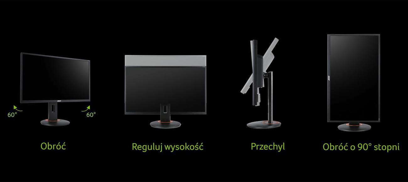 Monitor dla gracza Acer XF250QEBMIIPRX