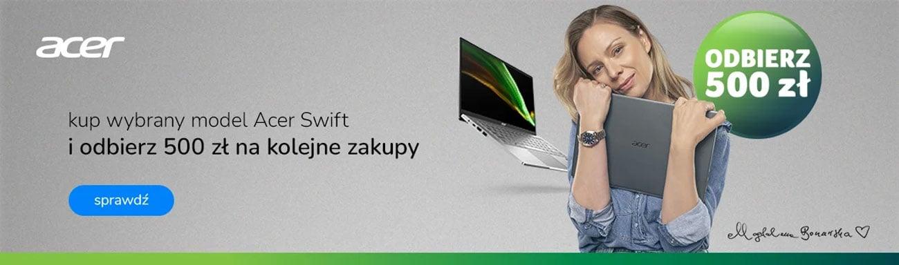 Banner bon Acer 500 PLN