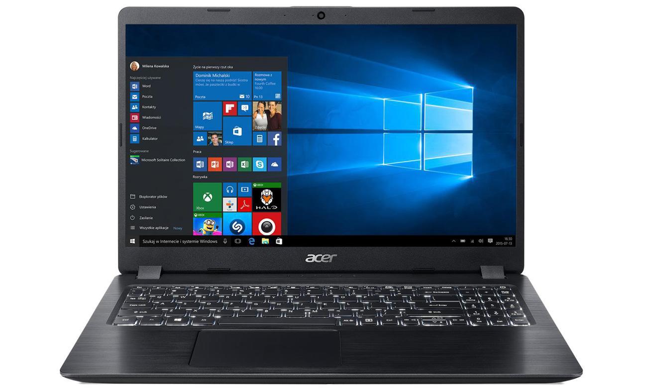 Laptop Acer Aspire 5 ekran FHD 15,6 cala technologia