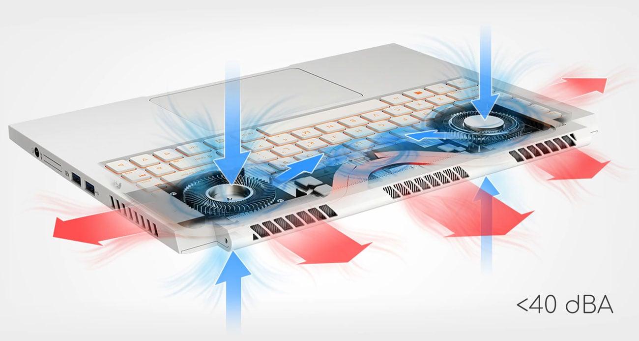 Acer ConceptD 3 chłodzenie